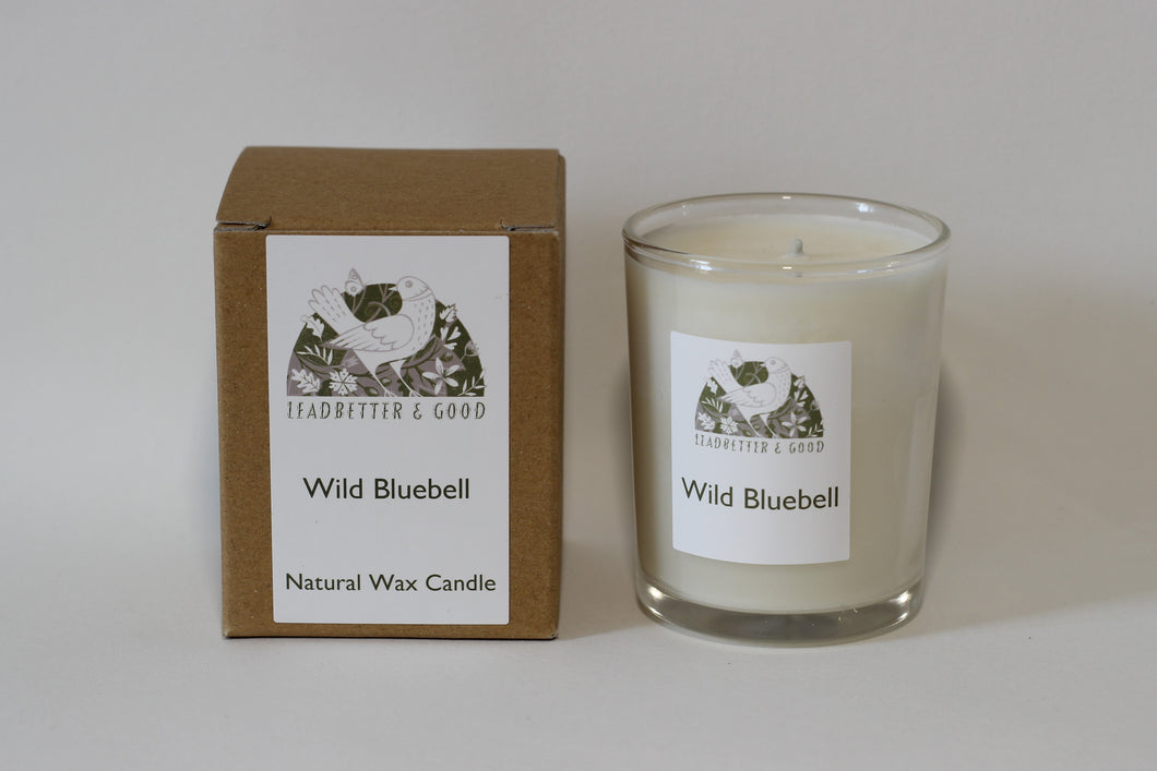 Wild Bluebell Votive Candle
