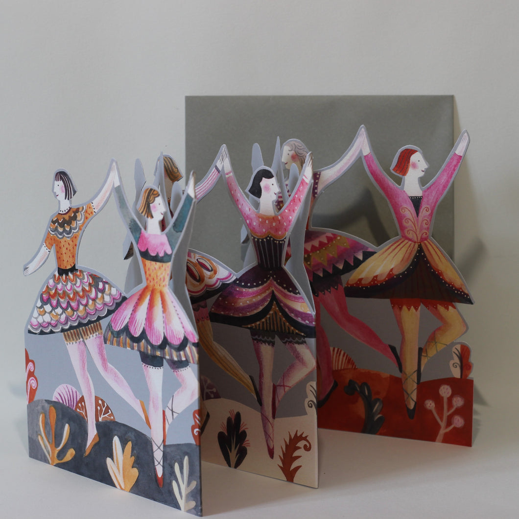 Fold-Out Dancers
