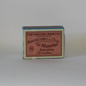 French Matches - Pink/Contribtions Indirectes