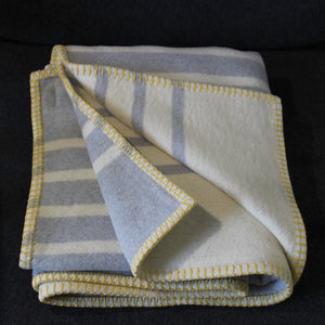 Grey Stripe Blanket
