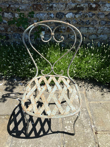 Antique French Garden Chair