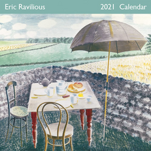 Load image into Gallery viewer, Eric Ravilious Tea At Furlongs 2021 Wall Calendar