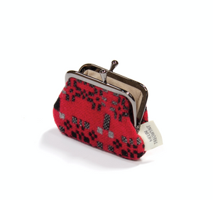 Welsh Coin Purse - Jemima Red