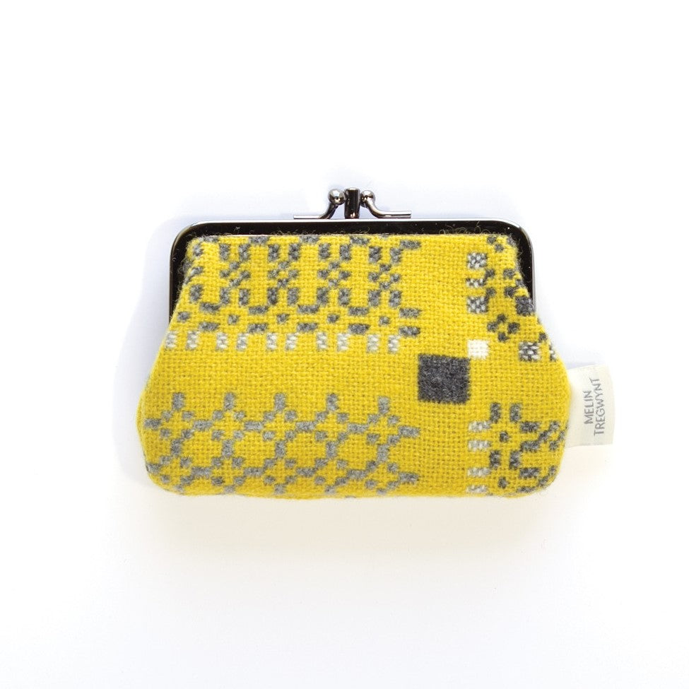 Welsh Purse - Yellow