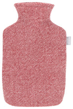 Load image into Gallery viewer, Lapuan Kankurit Sara Hot Water Bottle - Lingonberry Red