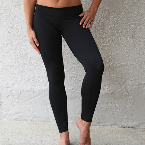 Baja Legging Jet Black