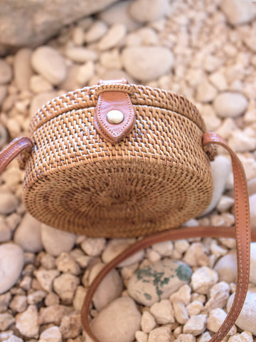 Bali Handwoven Bag Large Chestnut