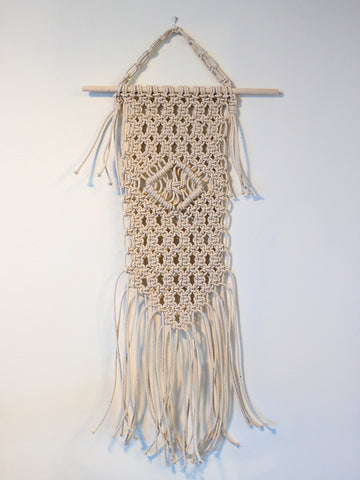 Coppens Mini Cotton Macrame Wall Hanging
