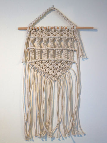 Dundee Mini Cotton Macrame Wall Hanging
