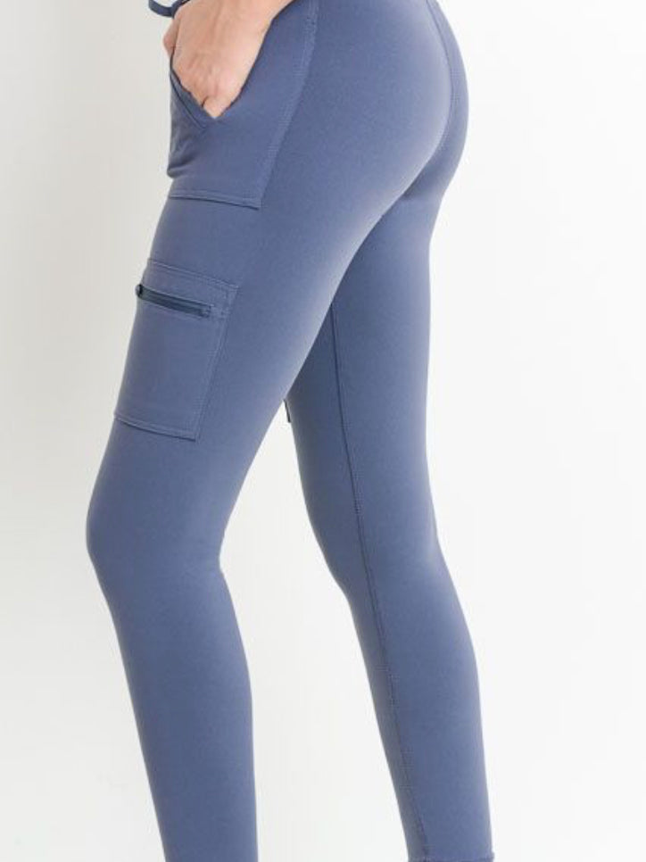 Esplanade Jogger Leggings Hamptons Blue