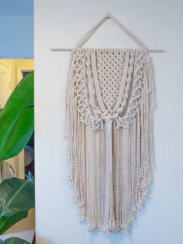 Forever Boho Cotton Macrame Wall Hanging