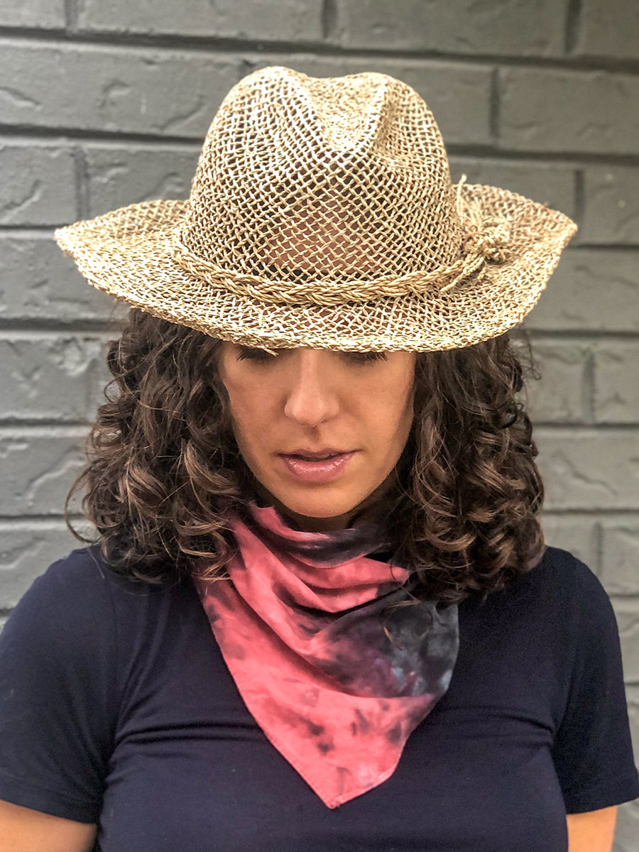 Rodeo Handwoven Western Hat Natural