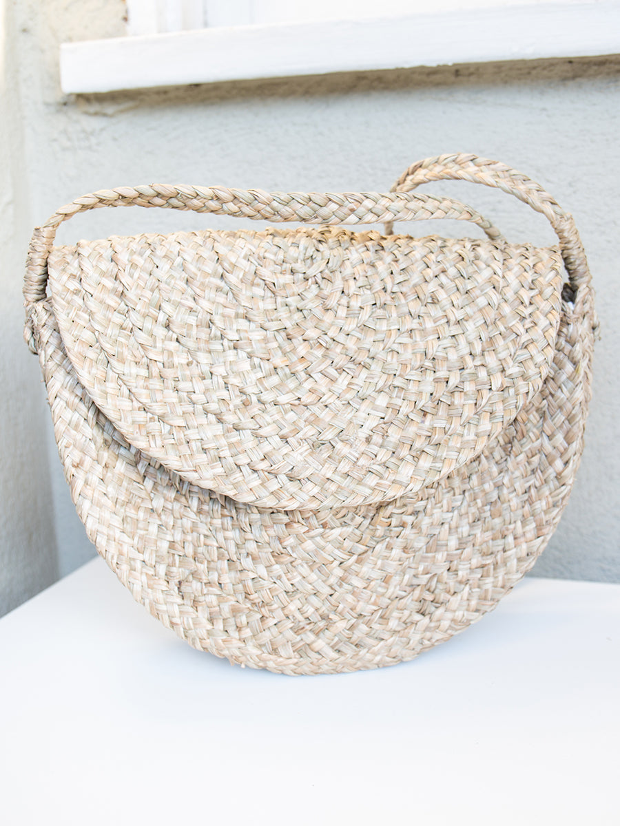 Roxy Handwoven Crossbody Bag Natural