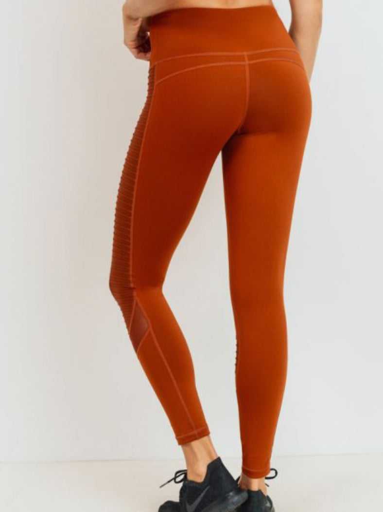 Triumph Moto Leggings Burnt Orange
