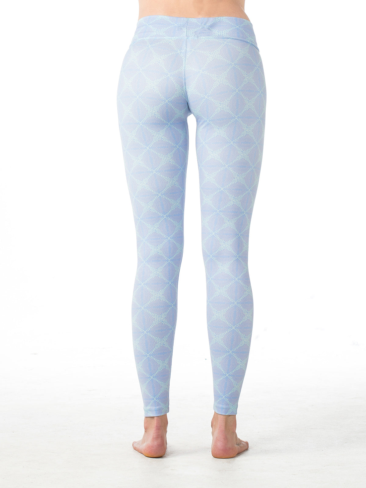 Baja Leggings Lavender Revolution Print