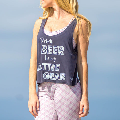 Beer Tank Charcoal Grey