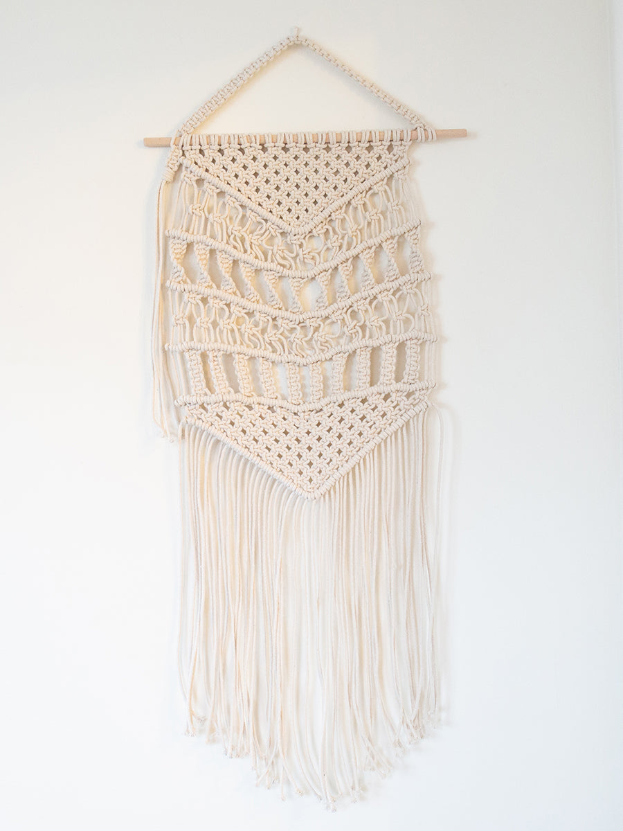 Dundee Cotton Macrame Wall Hanging
