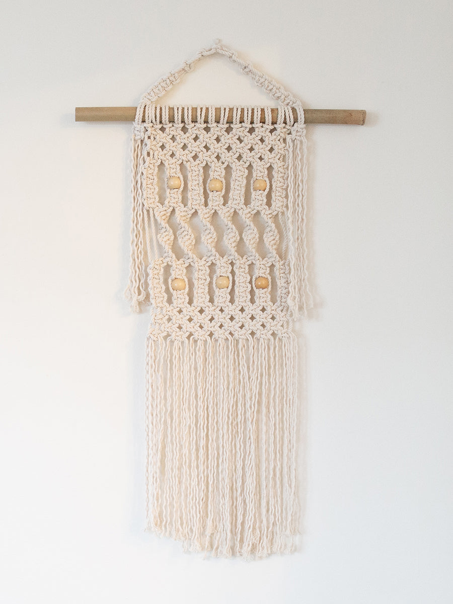 Faith Cotton Handmade Macrame Wall Hanging