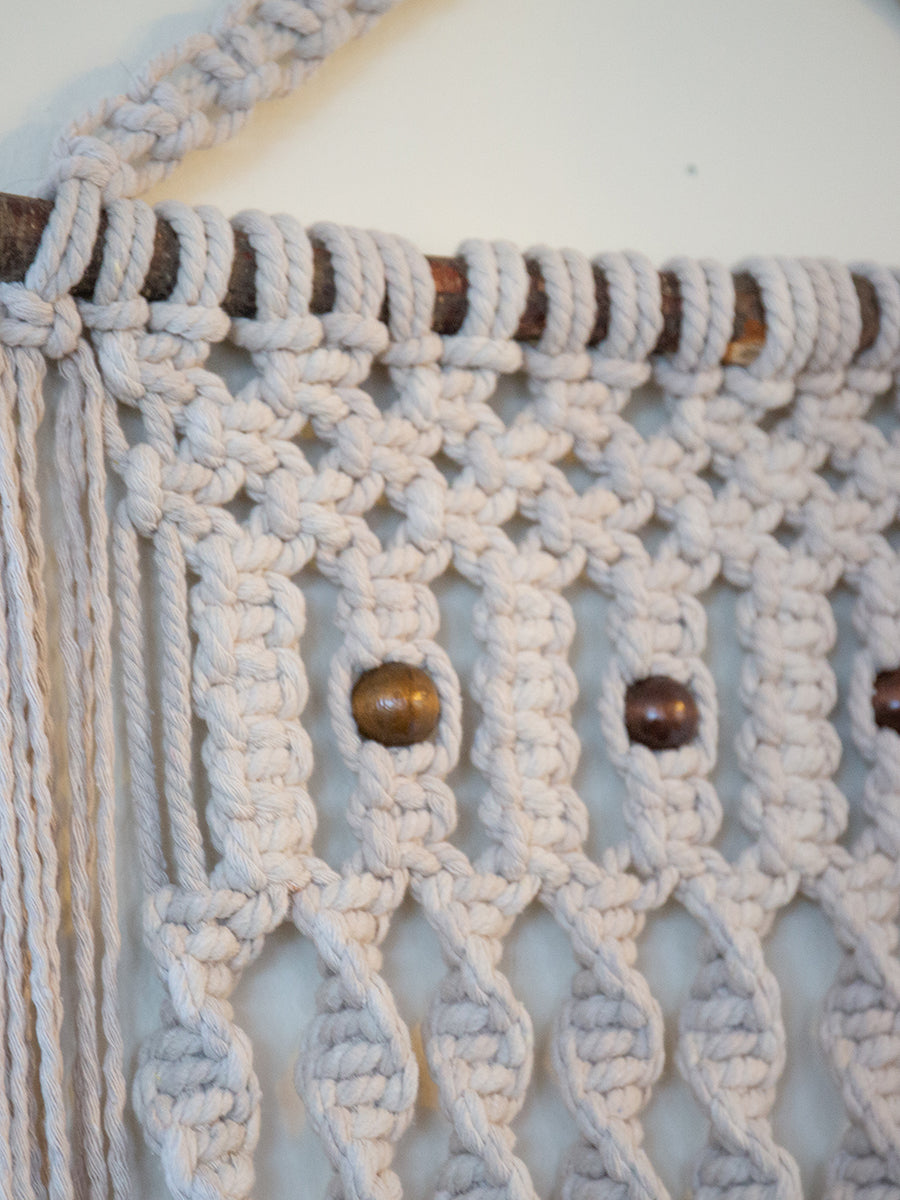 Janis Cotton Handmade Macrame Wall Hanging