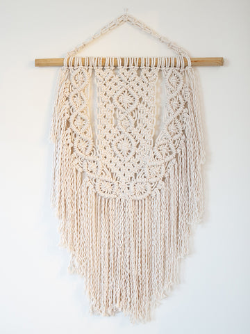 Stevie Cotton Handmade Macrame Wall Hanging