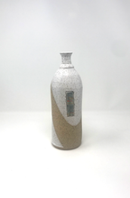 Load image into Gallery viewer, Hand Thrown Bottleneck Vase / White / one of a kind wheel thrown stoneware