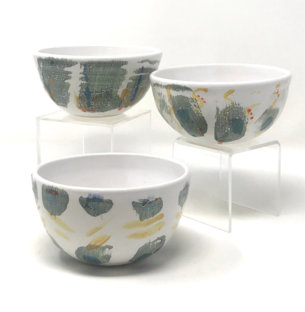 Farmhouse Anytime Bowls (SET) greys