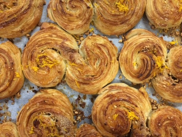 Orange & Hazlenut Pastry