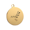 Free Customized Pet ID Tag - Gold Style - Dog_Apparel