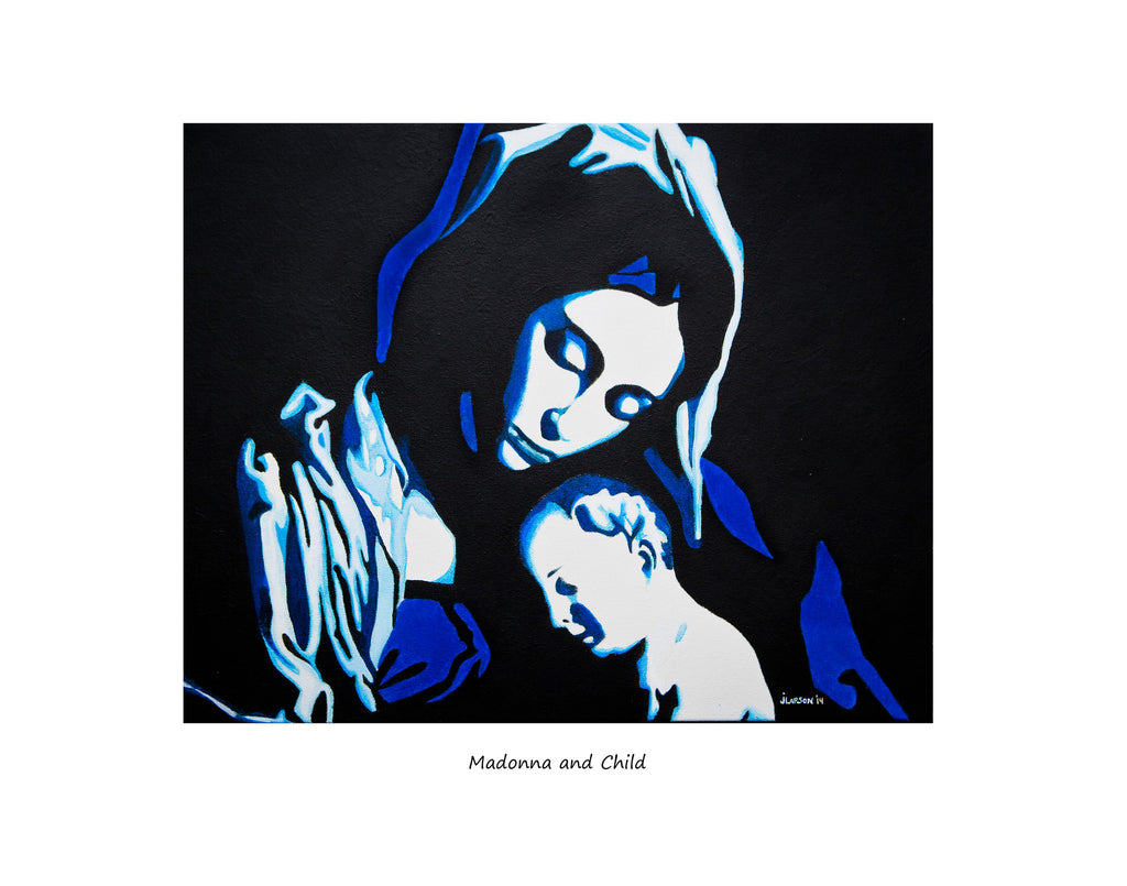 "11""x14"" ""Madonna and Child"" Limited edition signed and numbered prints"