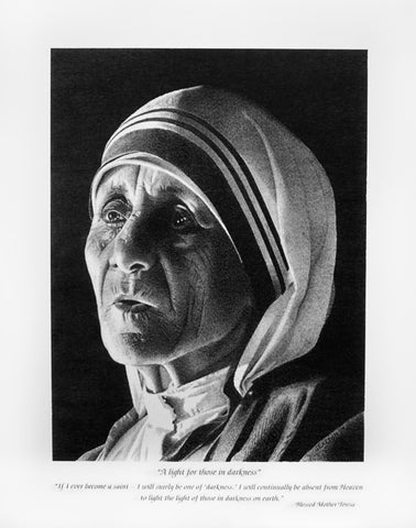 Mother Teresa Limited Edition Print