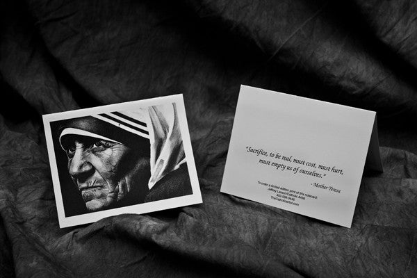Mother Teresa Note Card Pack