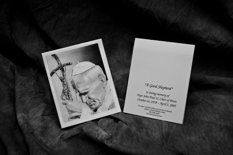 Pope John Paul 2 Note Card Pack
