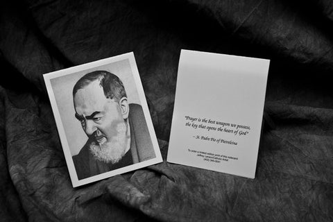 Padre Pio Note Card Pack