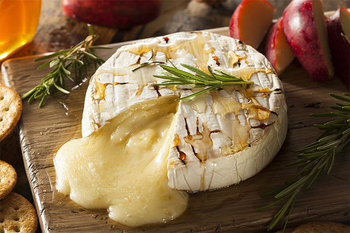 Baked Brie with White Truffle