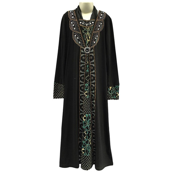 Abaya Turkey Kaftan  para mujeres - Yegane Fashion