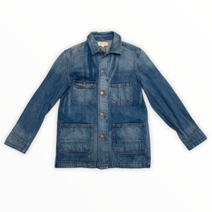 Primary Photo - BRAND: MADEWELL STYLE: JACKET OUTDOOR COLOR: DENIM SIZE: XS SKU: 223-22318-119906