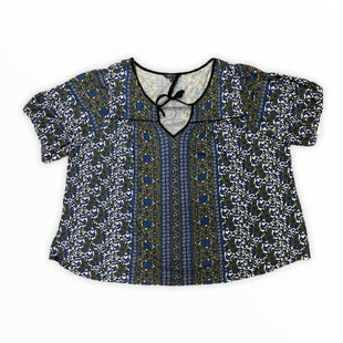 Primary Photo - BRAND: LUCKY BRAND STYLE: TOP SHORT SLEEVE COLOR: MULTI SIZE: 3X OTHER INFO: BLUE GREEN WHITE SKU: 223-22370-17539