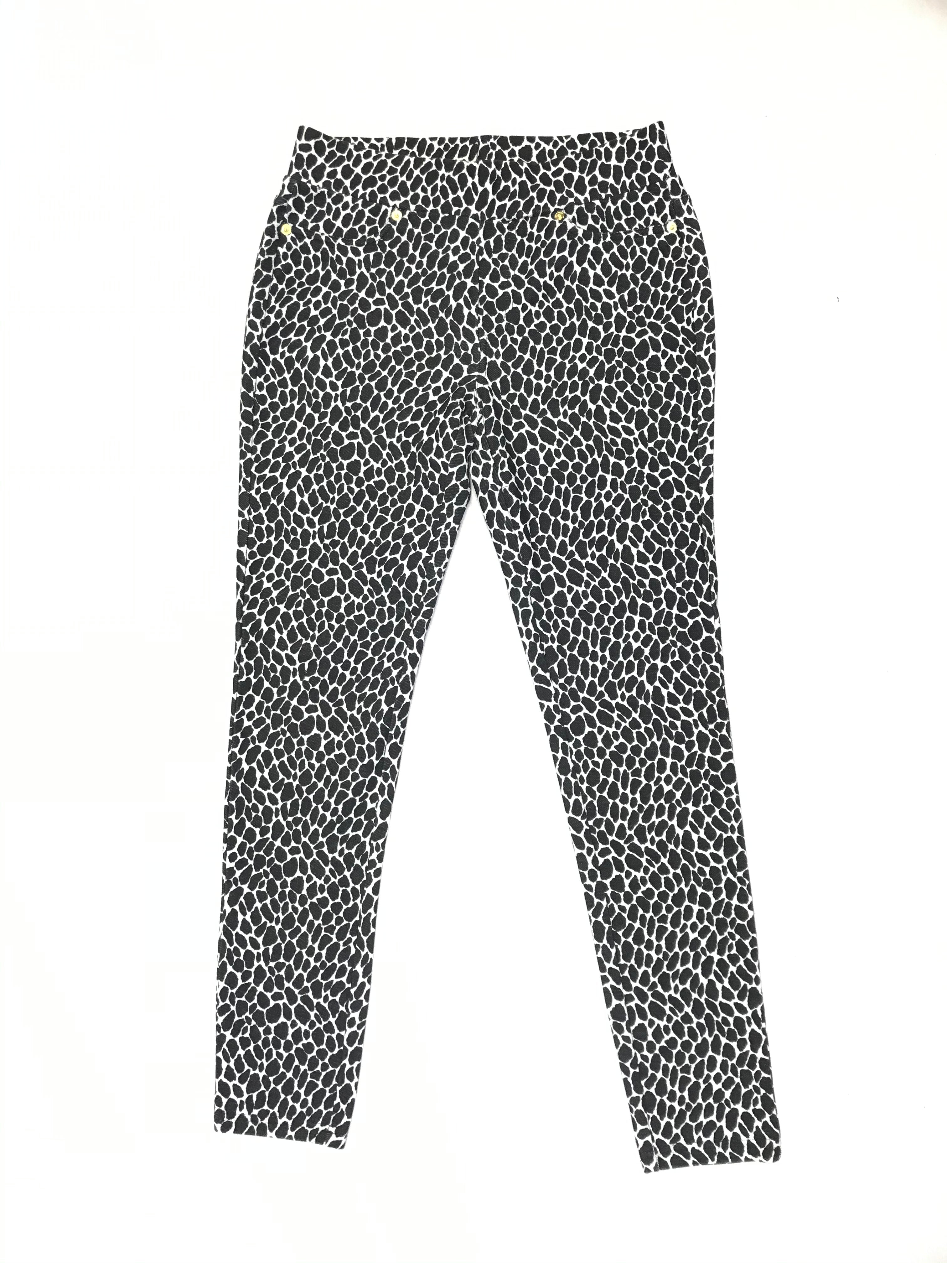 Primary Photo - BRAND: MICHAEL BY MICHAEL KORS <BR>STYLE: PANTS <BR>COLOR: ANIMAL PRINT <BR>SIZE: S <BR>OTHER INFO: WHITE/BLACK <BR>SKU: 223-22318-106041