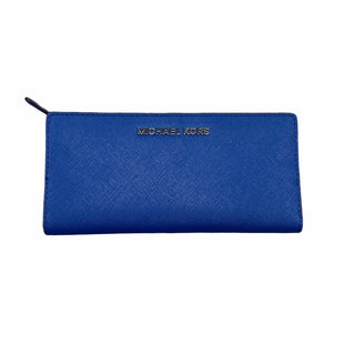 Primary Photo - BRAND: MICHAEL KORS STYLE: WALLET COLOR: NAVY SIZE: LARGE SKU: 223-22364-40465