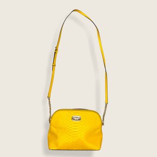 Primary Photo - BRAND: MICHAEL BY MICHAEL KORS STYLE: HANDBAG DESIGNER COLOR: YELLOW SIZE: SMALL OTHER INFO: SNAKESKIN/CROSSBODY SKU: 223-22343-19758