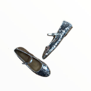 Primary Photo - BRAND: MADEWELL STYLE: SHOES FLATS COLOR: SEQUIN SIZE: 7.5 OTHER INFO: SILVER SKU: 223-22318-116867