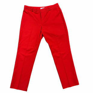 Primary Photo - BRAND: CALVIN KLEIN STYLE: PANTS COLOR: RED SIZE: 12 SKU: 223-22318-115834MATCHING BLAZER SOLD SEPARATELY.