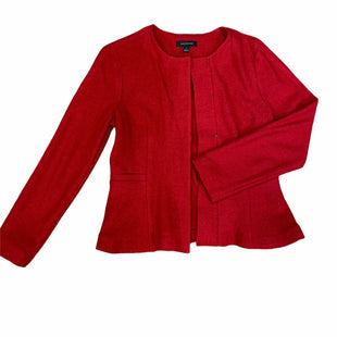 Primary Photo - BRAND: ANN TAYLOR STYLE: JACKET OUTDOOR COLOR: RED SIZE: 6 OTHER INFO: WOOL SKU: 223-22318-115736