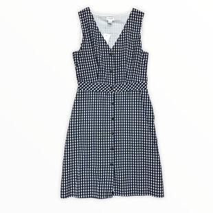 Primary Photo - BRAND: J CREW O STYLE: DRESS SHORT SLEEVELESS COLOR: WHITE BLUE SIZE: 4 SKU: 223-22318-112815