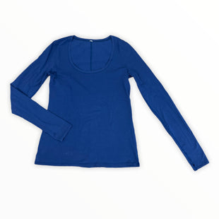 Primary Photo - BRAND: LULULEMON STYLE: ATHLETIC TOP COLOR: BLUE SIZE: S SKU: 223-22393-5680