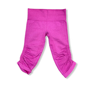 Primary Photo - BRAND: LULULEMON STYLE: ATHLETIC CAPRIS COLOR: PINK SIZE: 6 SKU: 223-22318-114455