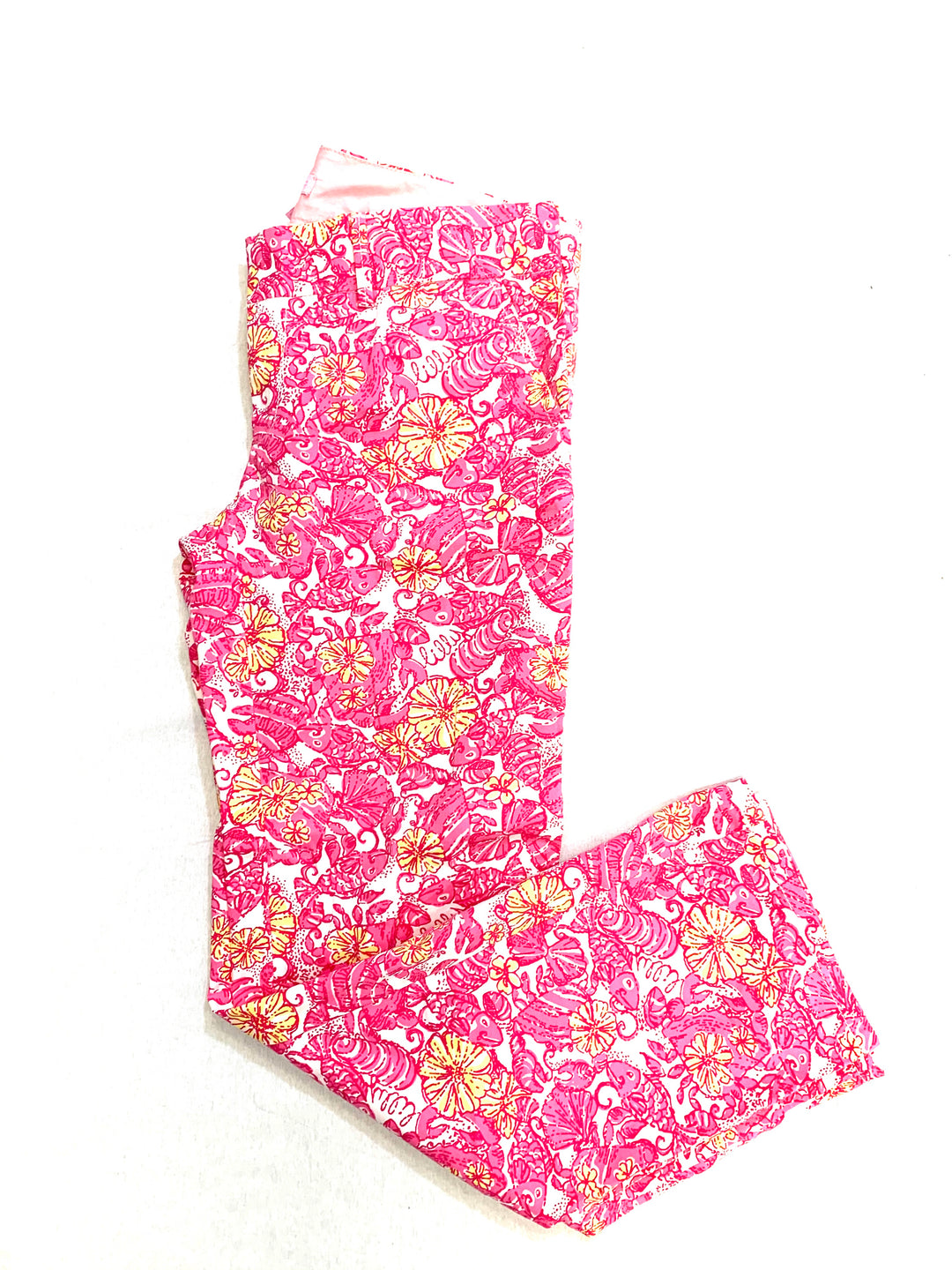 Primary Photo - BRAND: LILLY PULITZER <BR>STYLE: PANTS <BR>COLOR: MULTI <BR>SIZE: 4 <BR>OTHER INFO: PINK YELLOW <BR>SKU: 223-22364-34713