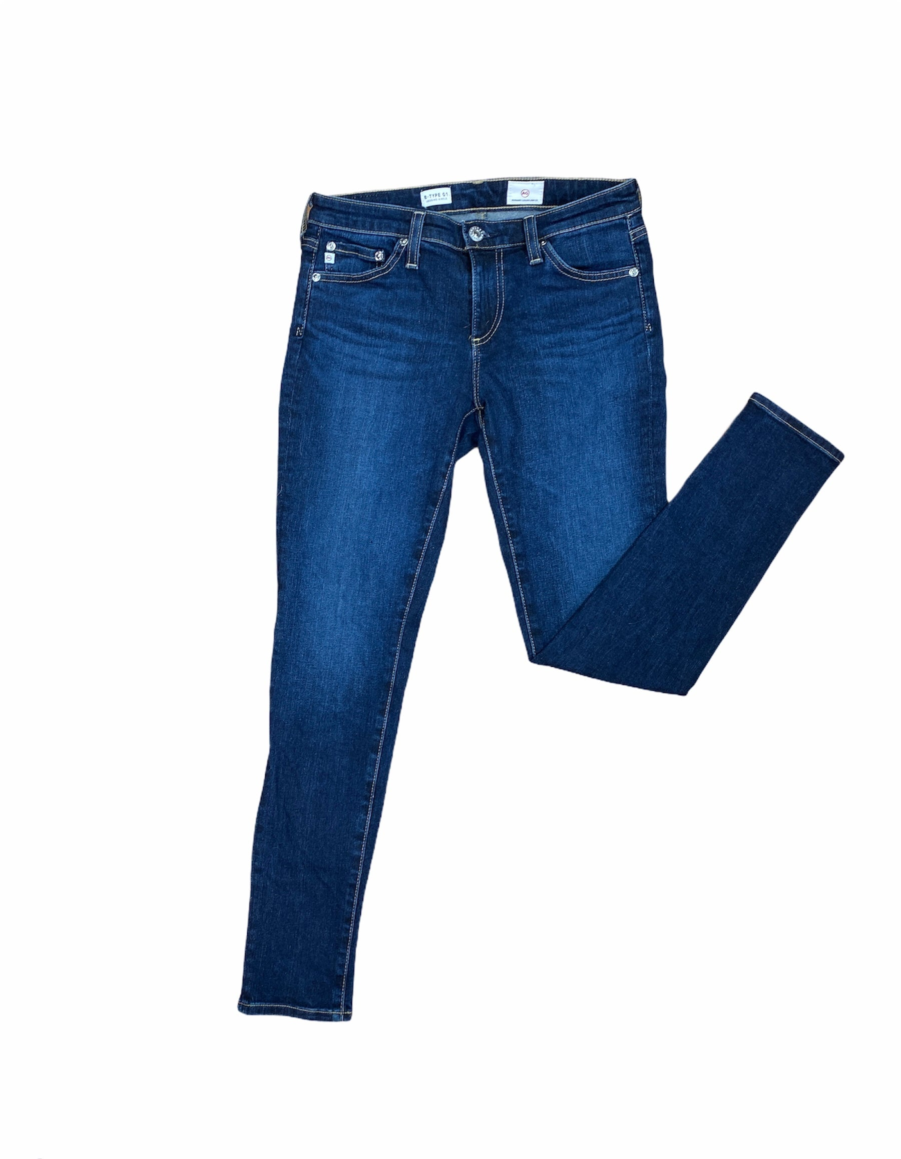 Primary Photo - BRAND: ADRIANO GOLDSCHMIED <BR>STYLE: JEANS DESIGNER <BR>COLOR: DENIM <BR>SIZE: 0 <BR>SKU: 223-22343-19855