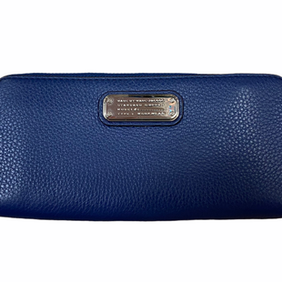 Primary Photo - BRAND: MARC BY MARC JACOBS STYLE: WALLET COLOR: NAVY SIZE: LARGE OTHER INFO: SILVER SKU: 223-22318-116992