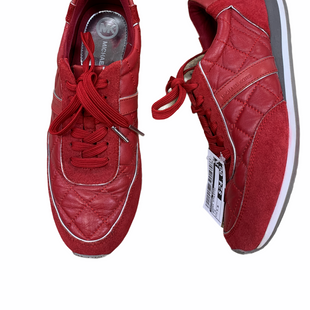 Primary Photo - BRAND: MICHAEL KORS STYLE: SHOES ATHLETIC COLOR: RED SIZE: 7.5 SKU: 223-22370-13492